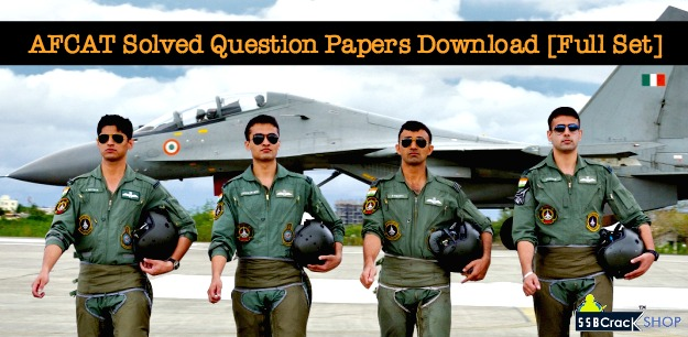 AFCAT Solved Question Papers