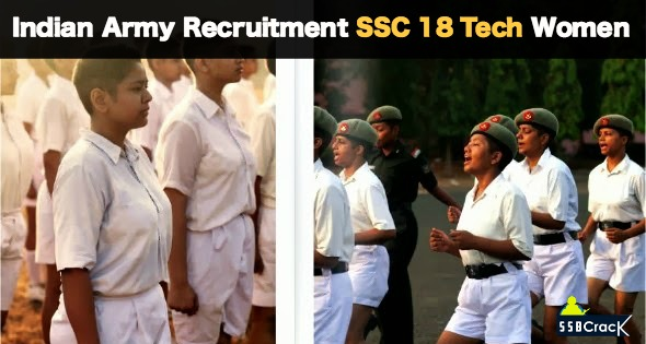 Indian Army Recruitment SSC 18 Tech Women