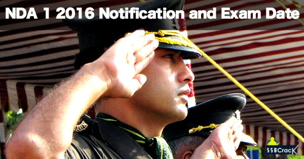 NDA 1 2016 Notification and Exam Date