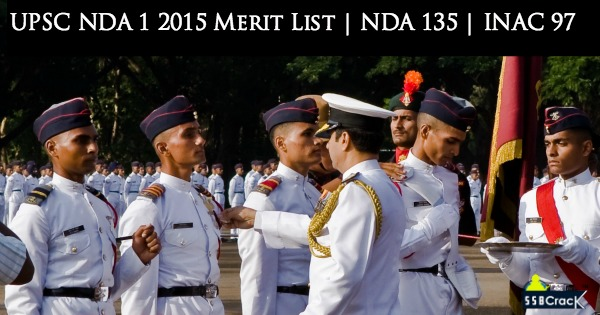 NDA 1 2015 Final Result | NDA 135 Merit List | INAC 97