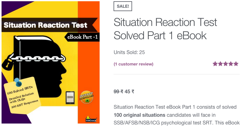 100 Solved Situation Reaction Test eBook
