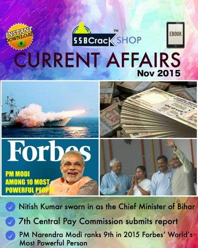 Current Affairs Nov 2015 eBook