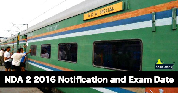 NDA 2 2016 Notification and Exam Date
