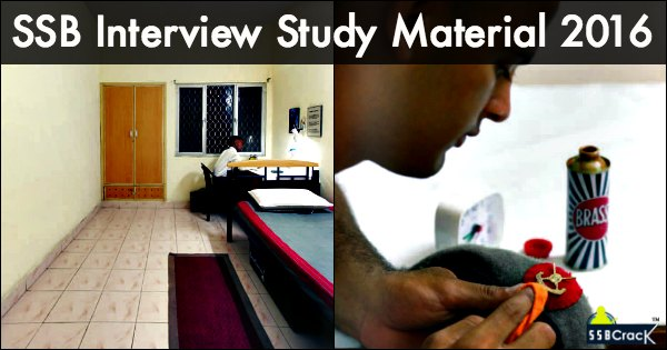 SSB Interview Study Material 2016