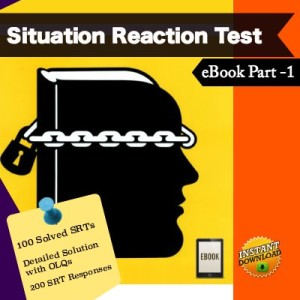 Situation Reaction Test Solved Part 1 eBook