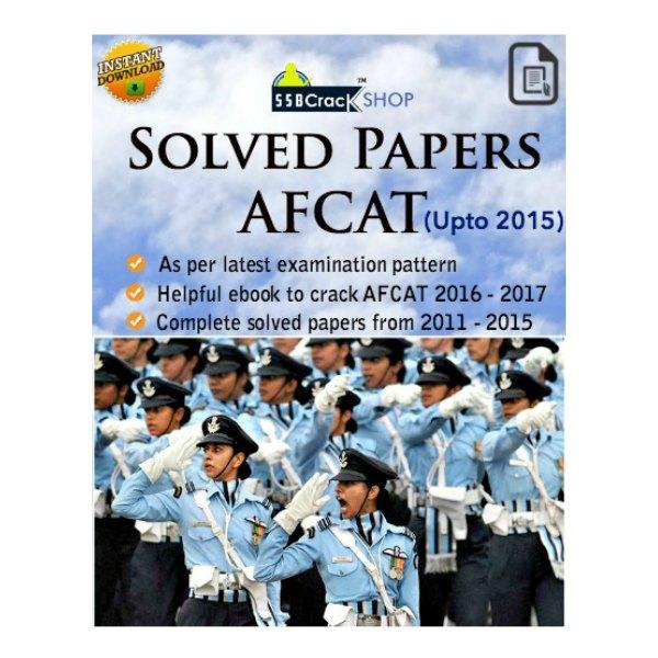 afcat solved paper ebook