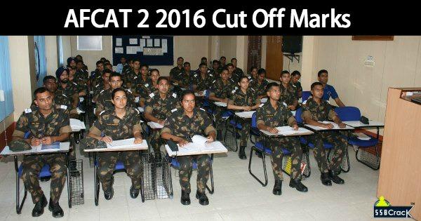 AFCAT 2 2016 Cut Off Marks