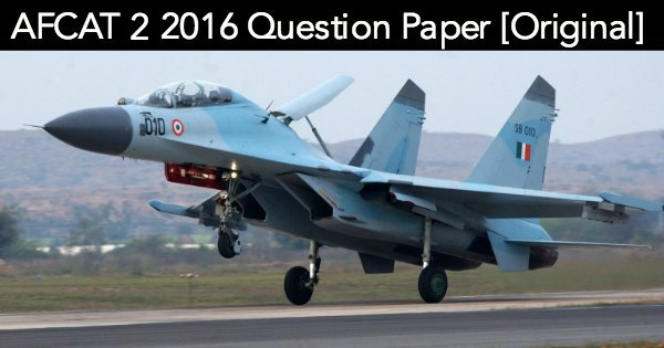 AFCAT-2-2016-Question-Paper-All-Set