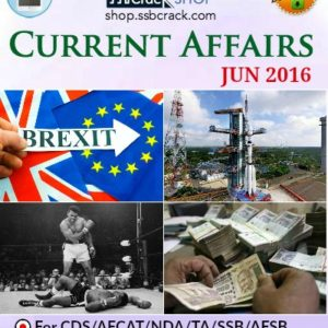 June 2016 Current Affairs ebook