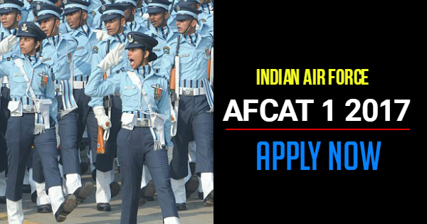 afcat-1-2017-notification