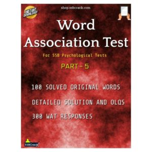 Word Association Test WAT eBook SSBCrack