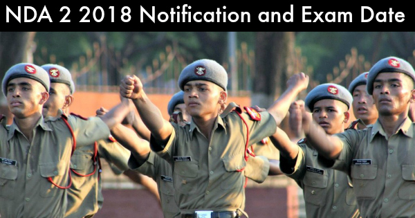 NDA-2-2018-notification-and-Exam-Date