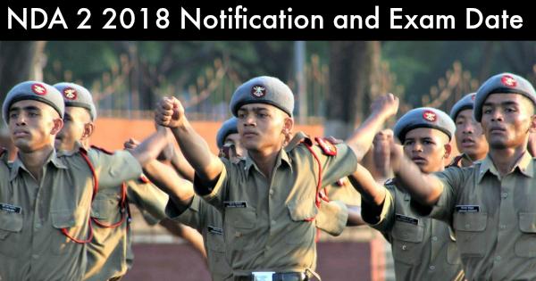 NDA-2-2018-notification-and-Exam-Date