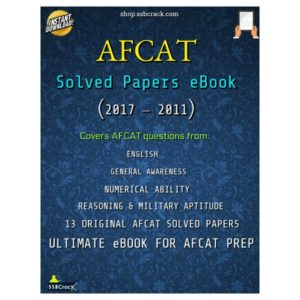 AFCAT Solved Papers eBook SSBCrack