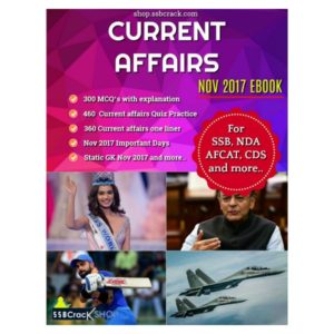 Current Affairs Nov 2017 eBook SSBCrack
