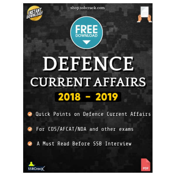 Defence Current Affairs 2018 - 2019