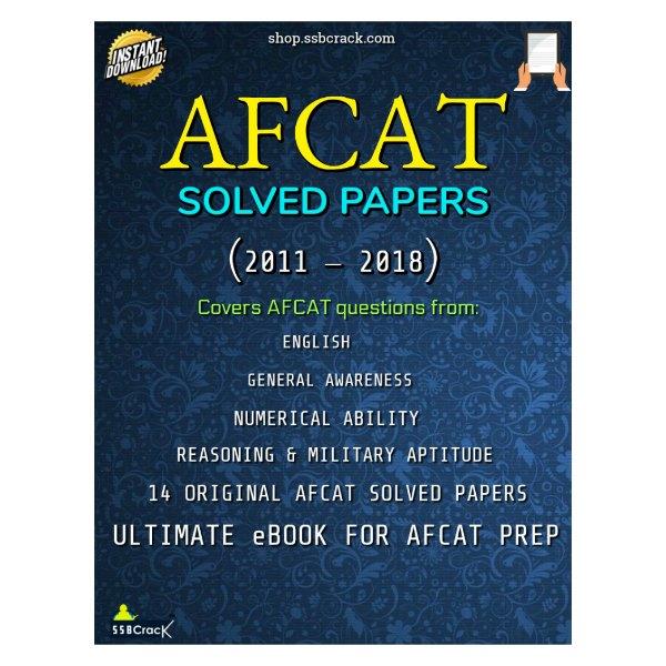 afcat solved papers ebook ssbcrack