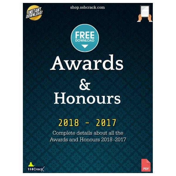 awards and honours ebook ssbcrack