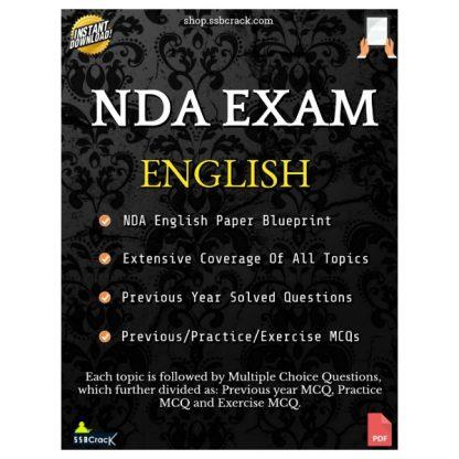 NDA Exam English eBook SSBCrack