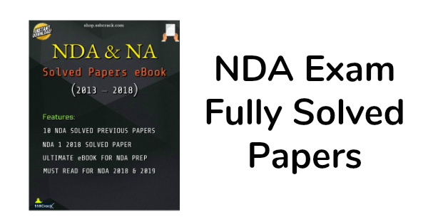 NDA Exam Fully Solved Papers