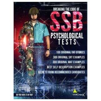 SSB Psychology Book SSBCrack