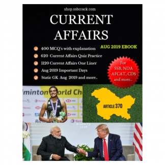 current affairs aug 2019 ssbcrack